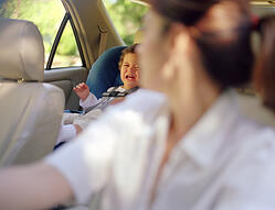 Child Distraught in Car