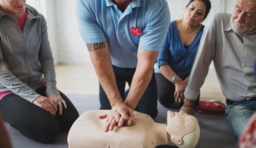 CPR and AED Workplace Training