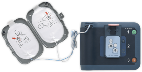 AED Device for CPR Response